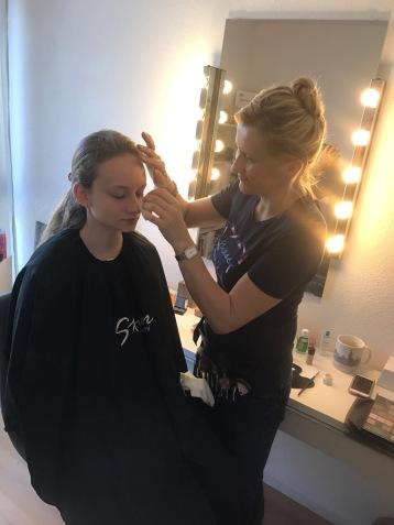 In meinem Home Make-Up Studio/Foto Make-Up für Freindsshooting