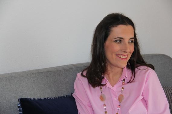 Vorher/Nachher Umstling Monika, indoor, Beautystudio, Rosa Töne, zarte Farben